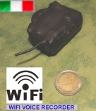 Micro registratore audio WiFi